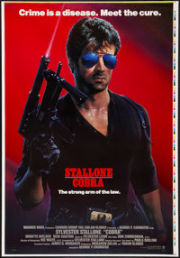 """Cobra (Warner Brothers, 1986). Printers Proof One Sheet (28.5"""" X 41""""). Advance. Action"""