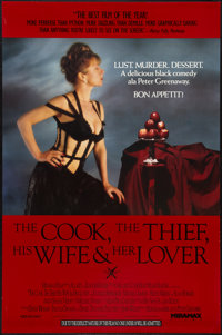 "The Cook, the Thief, His Wife & Her Lover (Miramax, 1990). One Sheet (27"" X 41""). Drama"