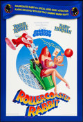 "Movie Posters:Animation, Roller Coaster Rabbit (Buena Vista, 1990). One Sheet (27"" X 40"").Animation.. ..."