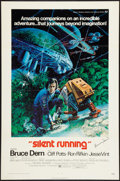 "Movie Posters:Science Fiction, Silent Running (Universal, 1972). Autographed One Sheet (27"" X41""). Flat Folded. Science Fiction.. ..."