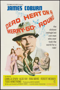"""Dead Heat on a Merry-Go-Round & Other Lot (Columbia, 1966). One Sheets (2) (27"""" X 41""""). Crime. ... (Total:..."""