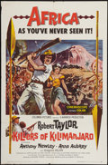"""Movie Posters:Adventure, Killers of Kilimanjaro & Other Lot (Columbia, 1960). One Sheets(2) (27"""" X 41""""). Adventure.. ... (Total: 2 Items)"""
