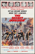 "Movie Posters:War, The Secret Invasion & Other Lot (United Artists, 1964). OneSheets (2) (27"" X 41""). War.. ... (Total: 2 Items)"
