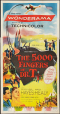 """Movie Posters:Fantasy, The 5000 Fingers of Dr. T (Columbia, 1953). Three Sheet (41"""" X80""""). Fantasy.. ..."""