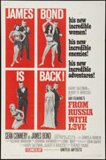 """Movie Posters:James Bond, From Russia with Love (United Artists, 1964). One Sheet (27"""" X41""""). Style B. James Bond.. ..."""
