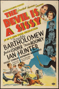 "Movie Posters:Comedy, The Devil is a Sissy (MGM, 1936). One Sheet (27"" X 41"") Style D. Comedy.. ..."