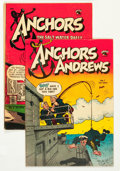 Golden Age (1938-1955):Humor, Anchors Andrews #1 and 2 Group (St. John, 1953).... (Total: 2 Comic Books)