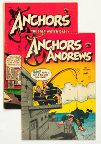 Anchors Andrews #1 and 2 Group (St. John, 1953).... (Total: 2 Comic Books)