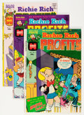 Bronze Age (1970-1979):Cartoon Character, Richie Rich Profits #1-47 File Copy Short Box Group (Harvey,1974-82) Condition: Average NM-....
