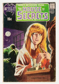 Bronze Age (1970-1979):Horror, House of Secrets #92 (DC, 1971) Condition: VG-....