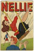 Golden Age (1938-1955):Humor, Nellie the Nurse #9 Cooksville pedigree (Timely, 1947) Condition: VG+....