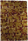 Rugs & Textiles:Tapestries, A Pair of Woven Textured Tapestries: Colmena I andColmena II. Olga de Amaral (Colombian, born 1932)...