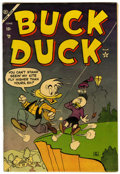 Golden Age (1938-1955):Funny Animal, Buck Duck #1 (Atlas, 1953) Condition: FN-....