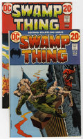 Bronze Age (1970-1979):Horror, Swamp Thing #2 and 3 Group (DC, 1972-73) Condition: Average NM-....(Total: 2 Comic Books)