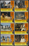 "Movie Posters:Adventure, Man Friday (Avco Embassy, 1975). Lobby Card Set of 8 (11"" X 14"").Adventure. ... (Total: 8 Items)"