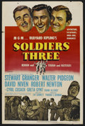 "Movie Posters:Adventure, Soldiers Three (MGM, 1951). One Sheet (27"" X 41""). Adventure. ..."