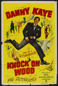 "Movie Posters:Comedy, Knock on Wood (Paramount, 1954). One Sheet (27"" X 41""). Comedy. ..."