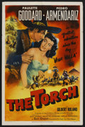 """Movie Posters:Drama, The Torch (Eagle Lion, 1950). One Sheet (27"""" X 41""""). Drama. ..."""