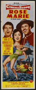 """Movie Posters:Musical, Rose Marie (MGM, 1954). Insert (14"""" X 36""""). Musical. ..."""