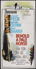 "Movie Posters:War, Behold a Pale Horse (Columbia, 1964). Three Sheet (41"" X 81""). War...."