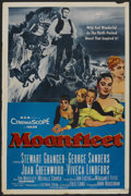 "Movie Posters:Adventure, Moonfleet (MGM, 1955). One Sheet (27"" X 41""). Adventure. ..."