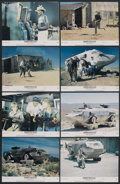 """Movie Posters:Science Fiction, Damnation Alley (20th Century Fox, 1977). Lobby Card Set of 8 (11"""" X 14""""). Science Fiction. ... (Total: 8 Items)"""