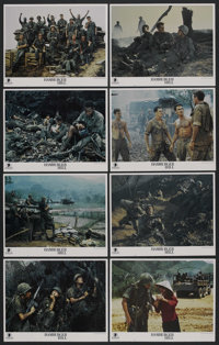 "Hamburger Hill (Paramount, 1987). Lobby Card Set of 8 (11"" X 14""). War. ... (Total: 8 Items)"