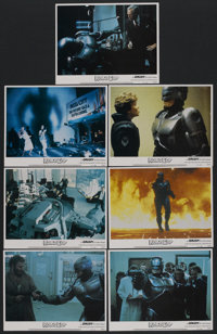 "RoboCop (Orion, 1987). Lobby Cards (7) (11"" X 14""). Action. ... (Total: 7 Items)"