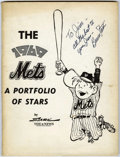 Original Comic Art:Miscellaneous, Bruce Stark - The 1969 Mets A Portfolio of Stars - Group of 19Prints (The News, 1969)....
