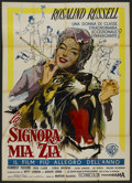 """Movie Posters:Comedy, Auntie Mame (Warner Brothers, 1958). Italian 2 - Folio (39"""" X 55"""").Comedy. ..."""