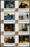 "Movie Posters:Western, The Missouri Breaks (United Artists, 1976). Lobby Card Set of 8 (11"" X 14""). Western. ... (Total: 8 Items)"
