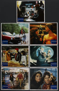 "Movie Posters:Science Fiction, Starman (Columbia, 1984). Lobby Cards (7) (11"" X 14""). ScienceFiction. ... (Total: 7 Items)"