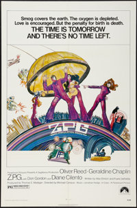 """Z.P.G. (Paramount, 1972). One Sheet (27"""" X 41""""). Science Fiction"""