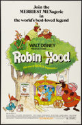 "Movie Posters:Animation, Robin Hood (Buena Vista, 1973). One Sheet (27"" X 41""). Animation....."