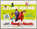 """Movie Posters:Animation, Song of the South (Buena Vista, R-1972). Half Sheet (22"""" X 28""""). Animation.. ..."""
