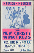 """Movie Posters:Rock and Roll, New Christy Minstrels (Reading Exchange Club, June 1970). ConcertPoster (14"""" X 22""""). Rock and Roll.. ..."""