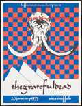 "Movie Posters:Rock and Roll, The Grateful Dead (Grateful Dead Merchandising, 1988) ConcertPoster (17"" X 22""). Rock and Roll.. ..."