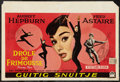 """Movie Posters:Romance, Funny Face (Paramount, 1957). Belgian Poster (15"""" X 22""""). Romance.. ..."""