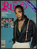 """Boxing Collectibles:Autographs, Sugar Ray Leonard Signed """"Ring"""" Magazine...."""