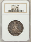 Proof Seated Half Dollars: , 1872 50C PR64 NGC. NGC Census: (34/23). PCGS Population (41/16).Mintage: 950. Numismedia Wsl. Price for problem free NGC/P...