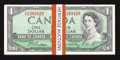 Canadian Currency: , BC-37b-i $1 1954 Modified Portrait Twenty-seven ConsecutiveExamples.. ... (Total: 27 notes)