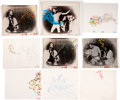 Music Memorabilia:Original Art, Queen A Kind of Magic Animation Cels.... (Total: 11 Items)