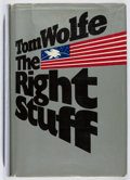 Books:Americana & American History, Tom Wolfe. The Right Stuff. Farrar, Straus and Giroux, 1979.First edition, first printing. Leaning. Jacket worn. Ve...