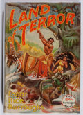 Books:Science Fiction & Fantasy, Edgar Rice Burroughs. Land of Terror. Edgar Rice Burroughs, 1944. First edition, first printing. Foxing to endpa...