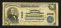 National Bank Notes:Virginia, Norfolk, VA - $20 1902 Plain Back Fr. 660 The NB of Commerce Ch. #6032. ...