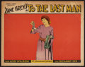 "Movie Posters:Western, To the Last Man (Paramount, 1923). Lobby Card (11"" X 14""). Western.. ..."