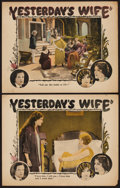 """Movie Posters:Drama, Yesterday's Wife (Columbia, 1923). Lobby Cards (2) (11"""" X 14""""). Drama.. ... (Total: 2 Items)"""