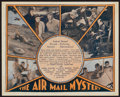 "Movie Posters:Adventure, Air Mail Mystery & Other Lot (Universal, 1932). AustralianHeralds (2) (7.5"" X 9"" & 9"" X 11""). Adventure.. ... (Total: 2Items)"