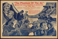"Movie Posters:Adventure, The Phantom of the Air (Universal, 1933). Australian Herald (12"" X18""). Adventure.. ..."