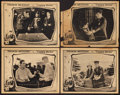 "Movie Posters:Adventure, Cappy Ricks (Paramount, 1921). Lobby Cards (4) (11"" X 14"").Adventure.. ... (Total: 4 Items)"
